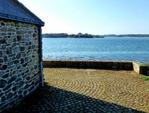 Île d'Arz - petite maison à l'arrivée de l'île