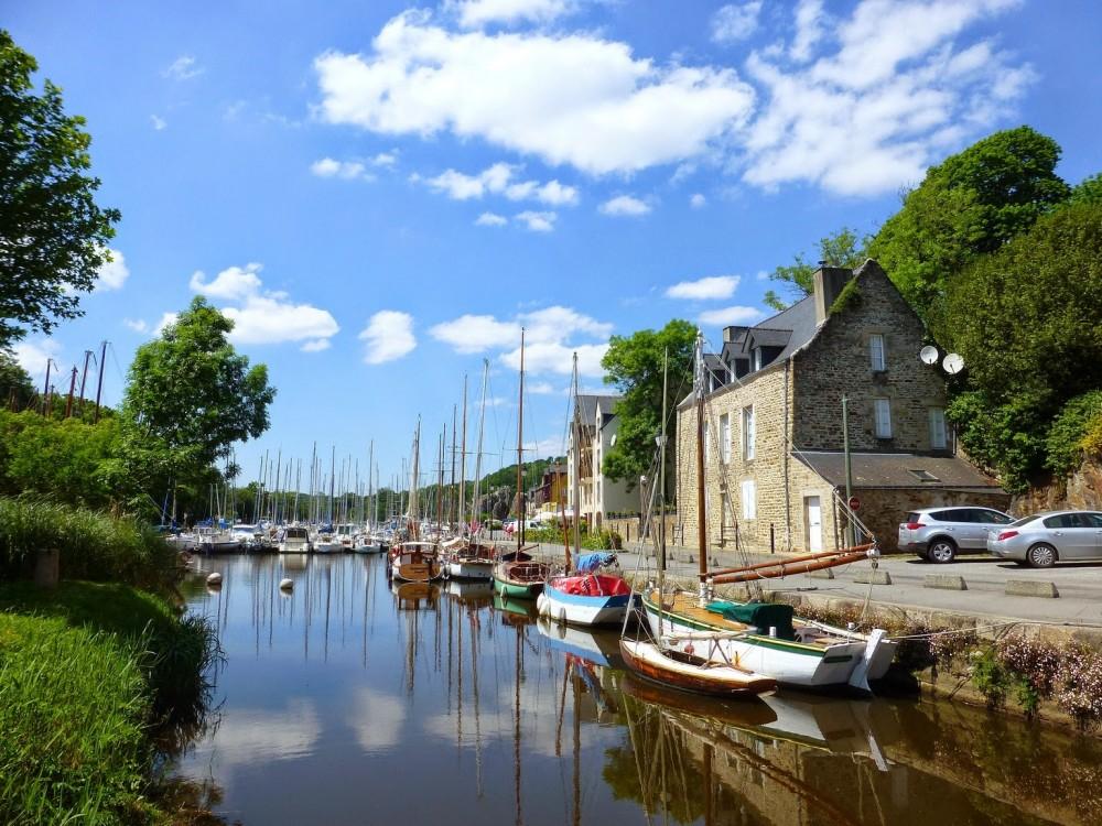 Port de La Roche-Bernard sur la Vilaine