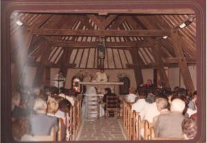 Mariage à Kervoyal octobre 1983