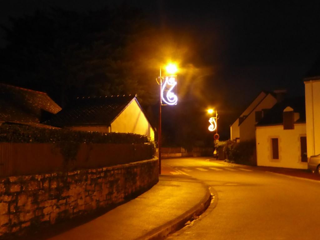 Lumières de fêtes à Kervoyal...