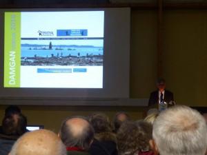 présentation du site kervoyalendamgan.fr lors des vœux du 23 janvier 2016