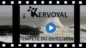 Kervoyal en vidéo youtube tempete