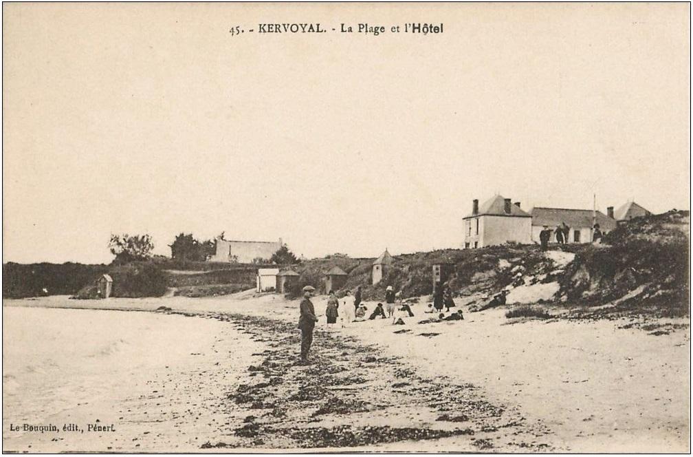 #kervoyal carte postale ancienne (71)
