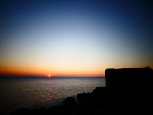 coucher de soleil à kervoyal en damgan