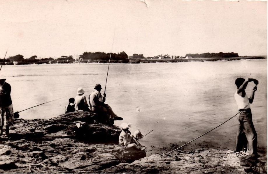 pêche à la pointe de kervoyal en damgan