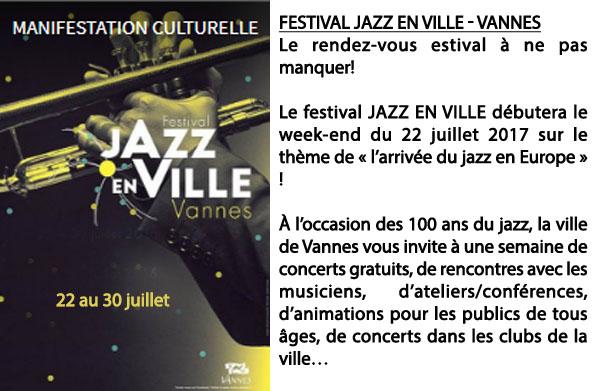 jazz à vannes 2017