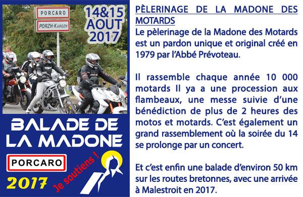 madonne motard 2017