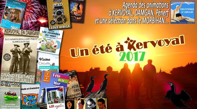 Agenda de l'été 2017 à Kervoyal, Damgan et dans le Morbihan…