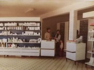 la pharmacie de Damgan dans les années 70