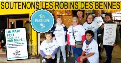 article 31 novembre 2017 Robins des bennes à Ambon et sarzeau