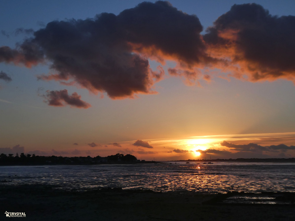 coucher de soleil à pénerf damgan