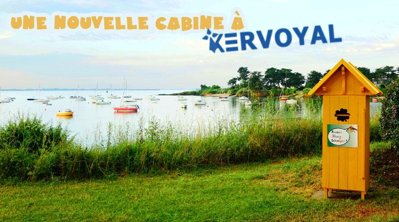 Une nouvelle cabine à Kervoyal…