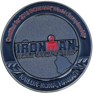 médaille iron man 2019 pass