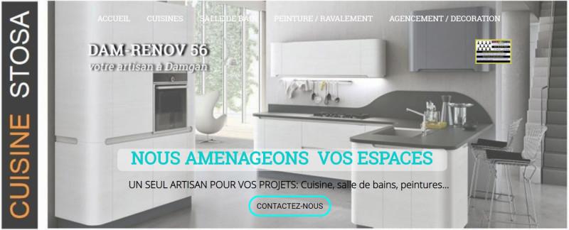 site damrenov56 artisan suisiniste salle de bain démoussage peinture kervoyal damgan 56750