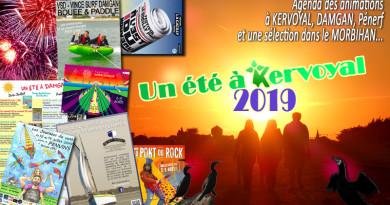 article agenda des animations et festivités à kervoyal damgan morbihan 2019