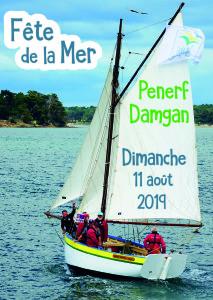 Affiche programme fête de la mer 2019 pénerf damgan