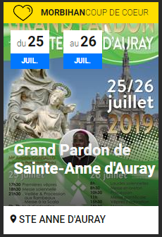 grand pardon de sainte anne d'auray 2019