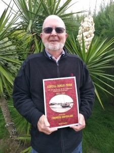 Pierre carlier présentant son livre 120 de presse à kervoyal damgan pénerf