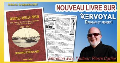 article kervoyal en damgan livre de pierre carlier 120 ans de coupures de presse