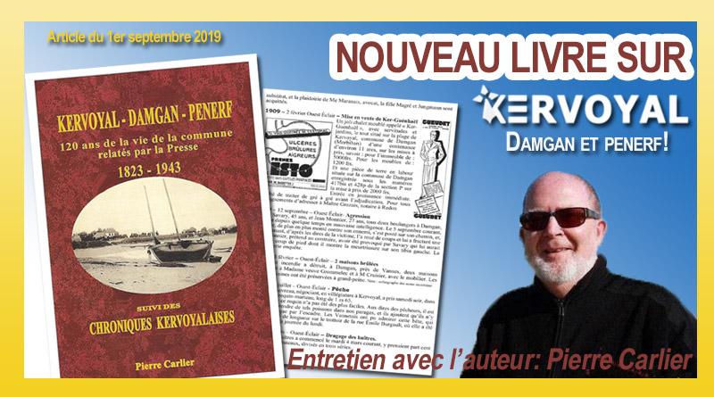 Un nouveau livre sur Kervoyal!