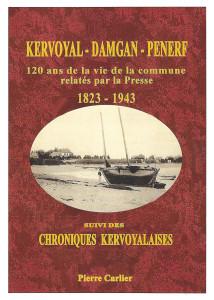 couverture pierre carlier 120 ans de presse à kervoyal en damgan