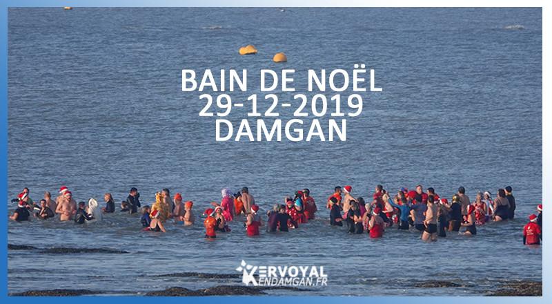 BAIN DE NOÊL 2019 - LES PHOTOS KERVOYAL EN DAMGAN