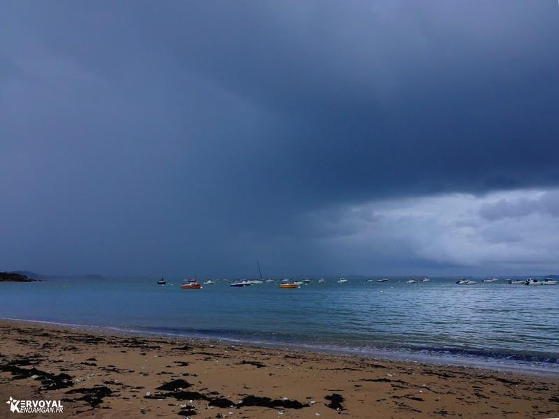 la tempête alex à kervoyal en damgan morbihan (2)