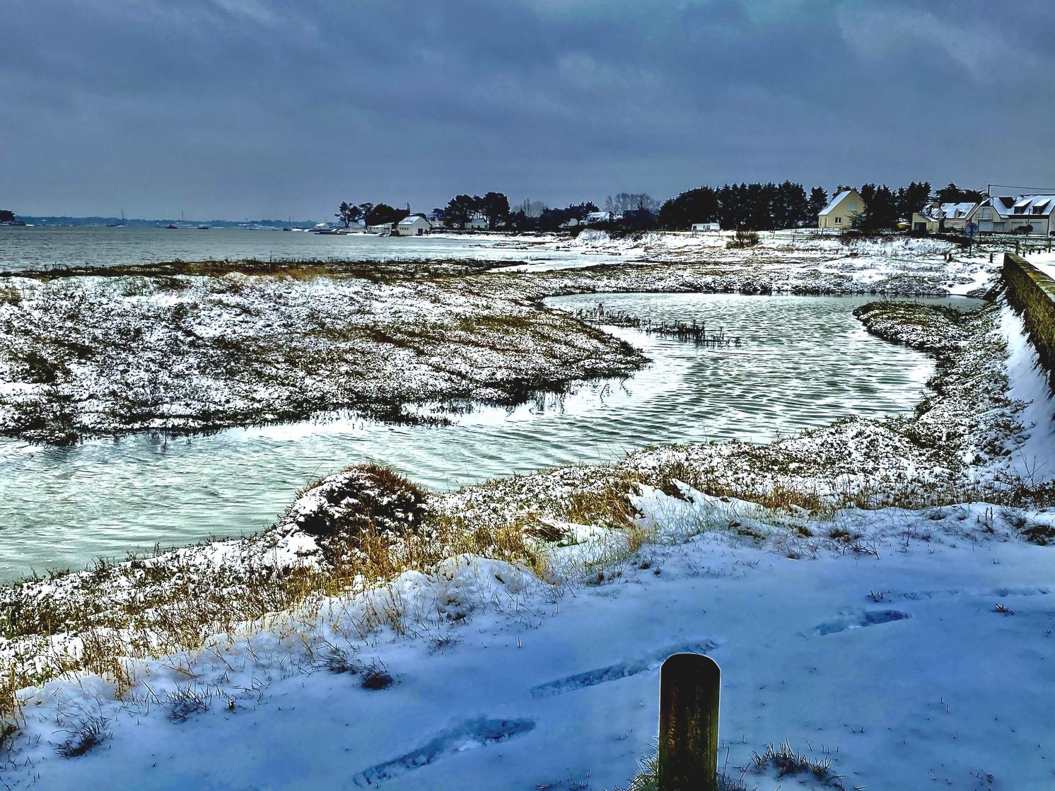 Penerf en Damgan sous la neige - morbihan bretagne©Philippe Jaquemin (10)