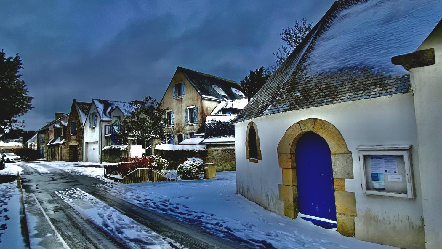 Penerf en Damgan sous la neige - morbihan bretagne©Philippe Jaquemin (26)