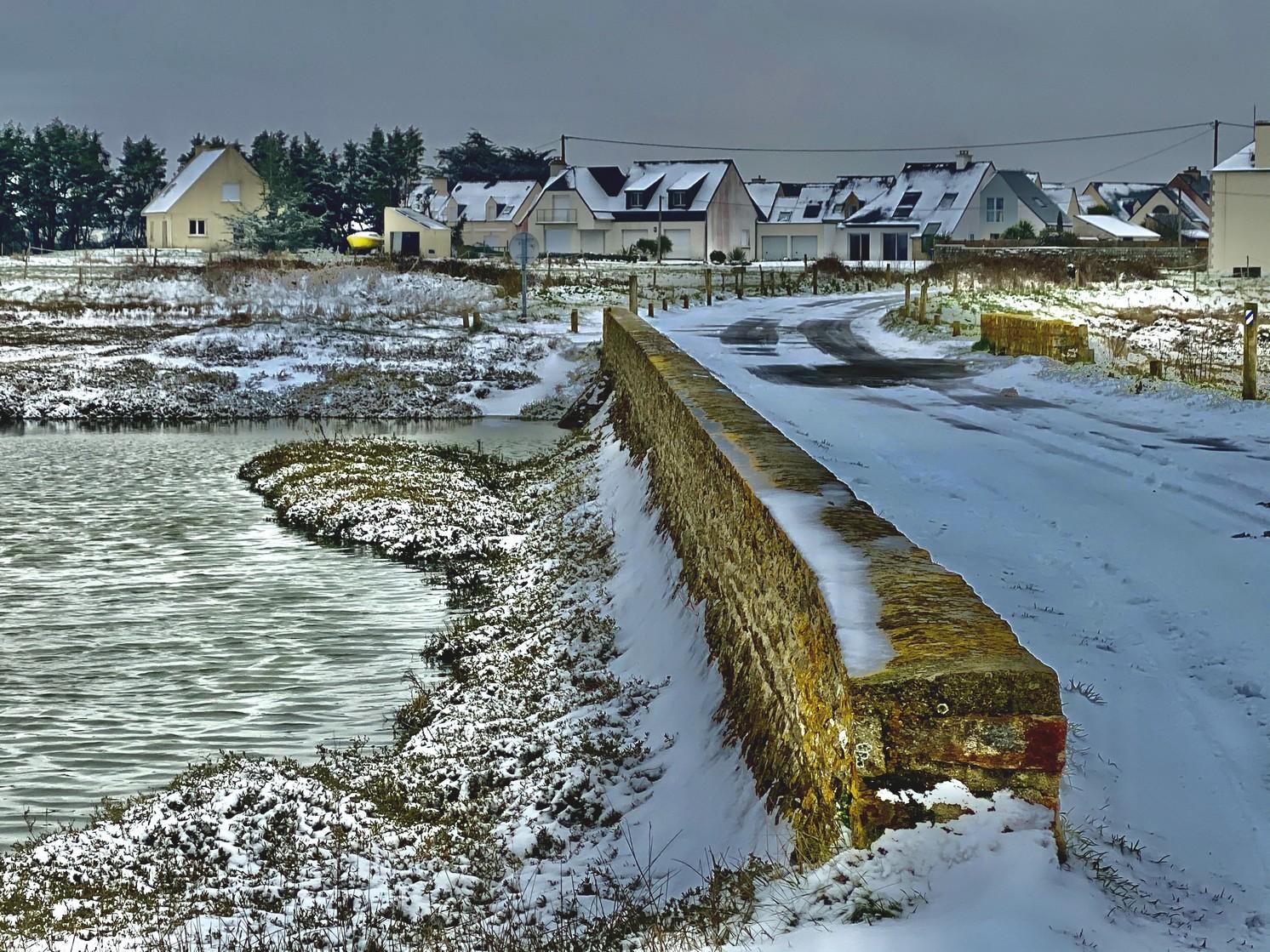 Penerf en Damgan sous la neige - morbihan bretagne©Philippe Jaquemin (9)