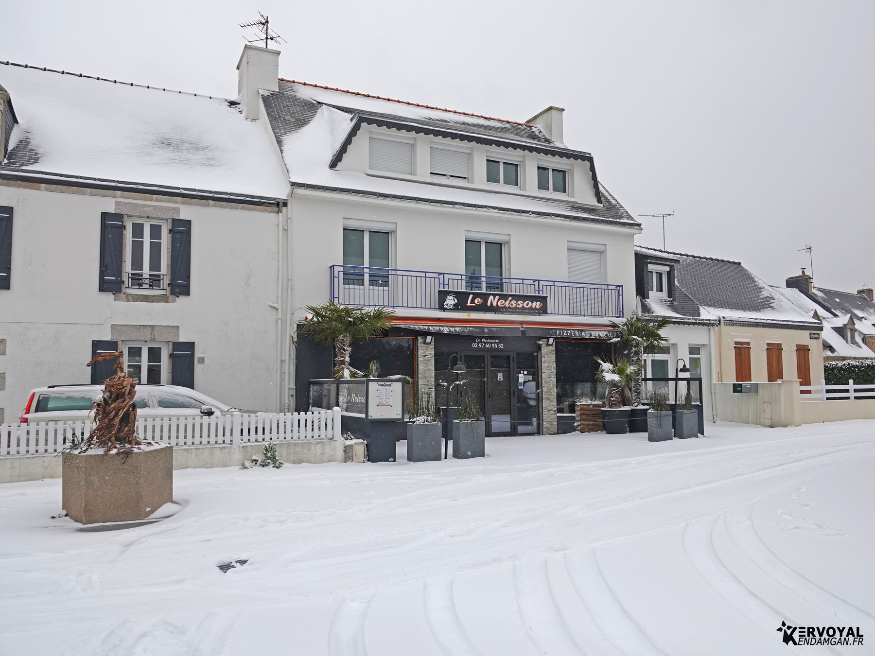 neige à kervoyal 11 février 2021 damgan morbihan (14)