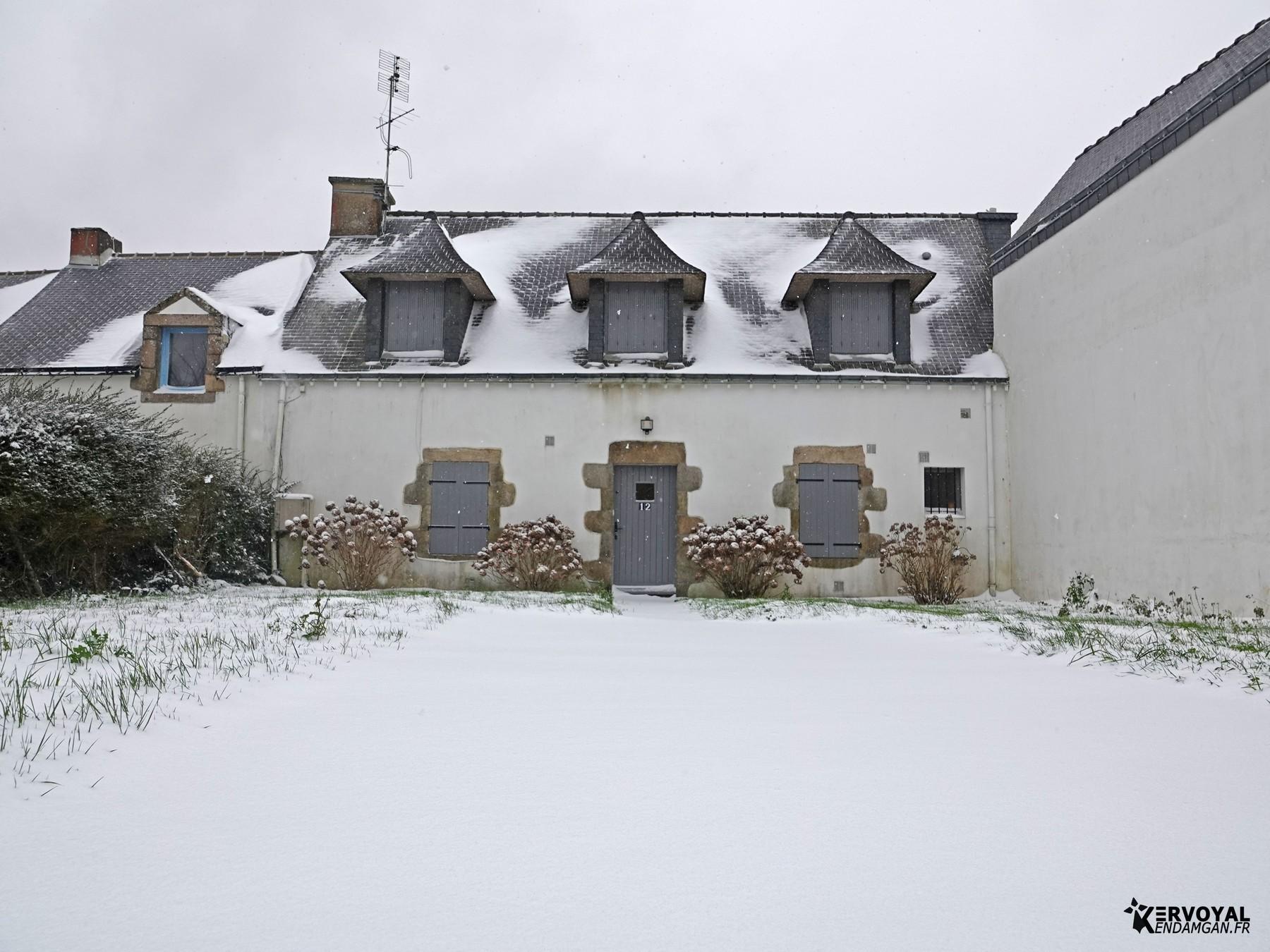 neige à kervoyal 11 février 2021 damgan morbihan (15)