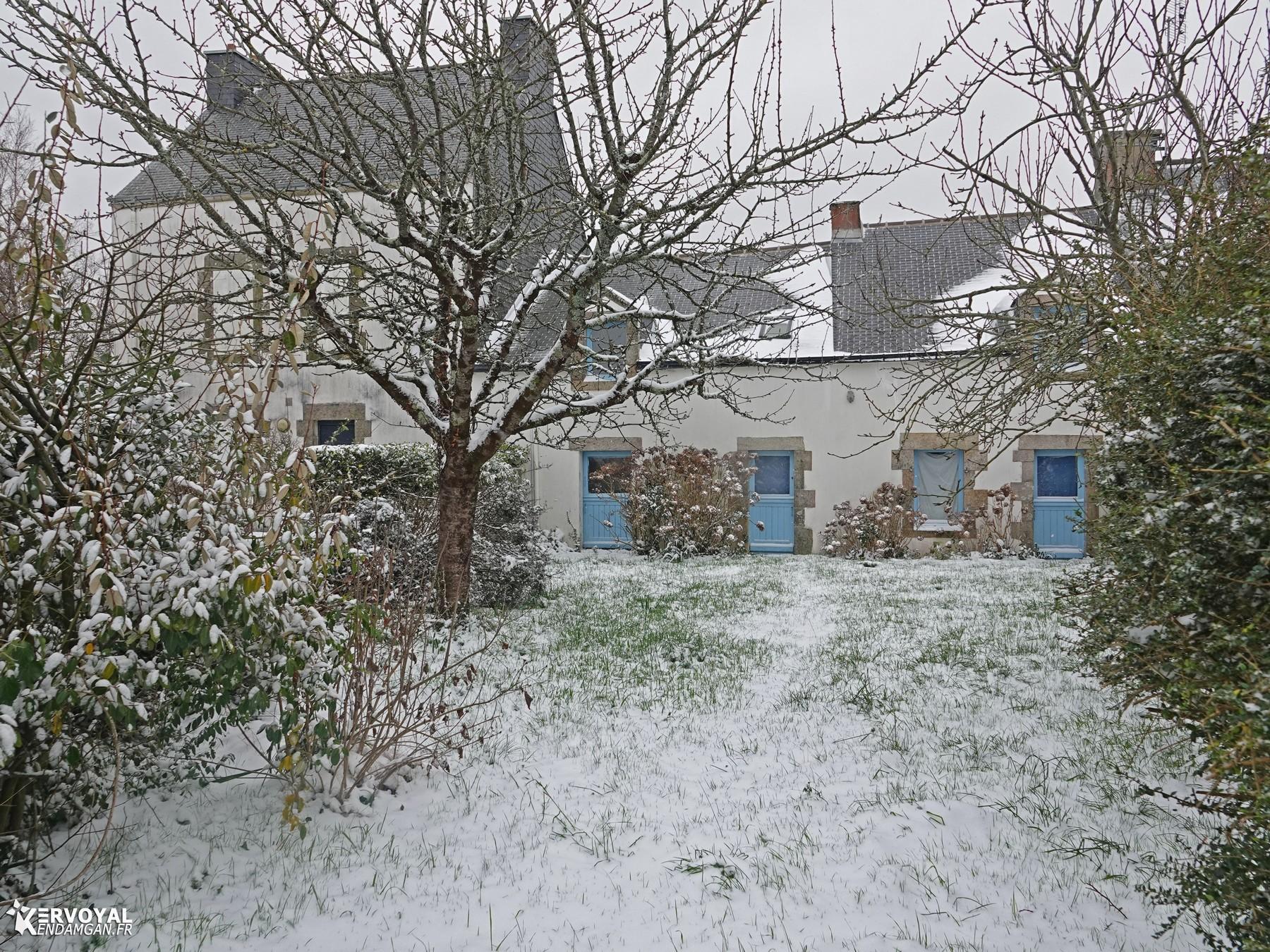 neige à kervoyal 11 février 2021 damgan morbihan (16)