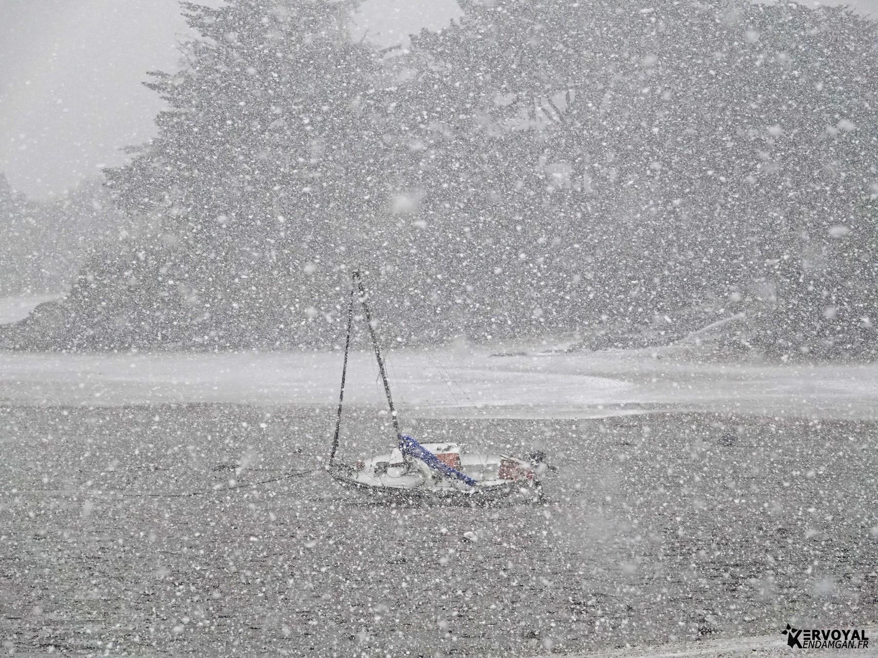 neige à kervoyal 11 février 2021 damgan morbihan (19)