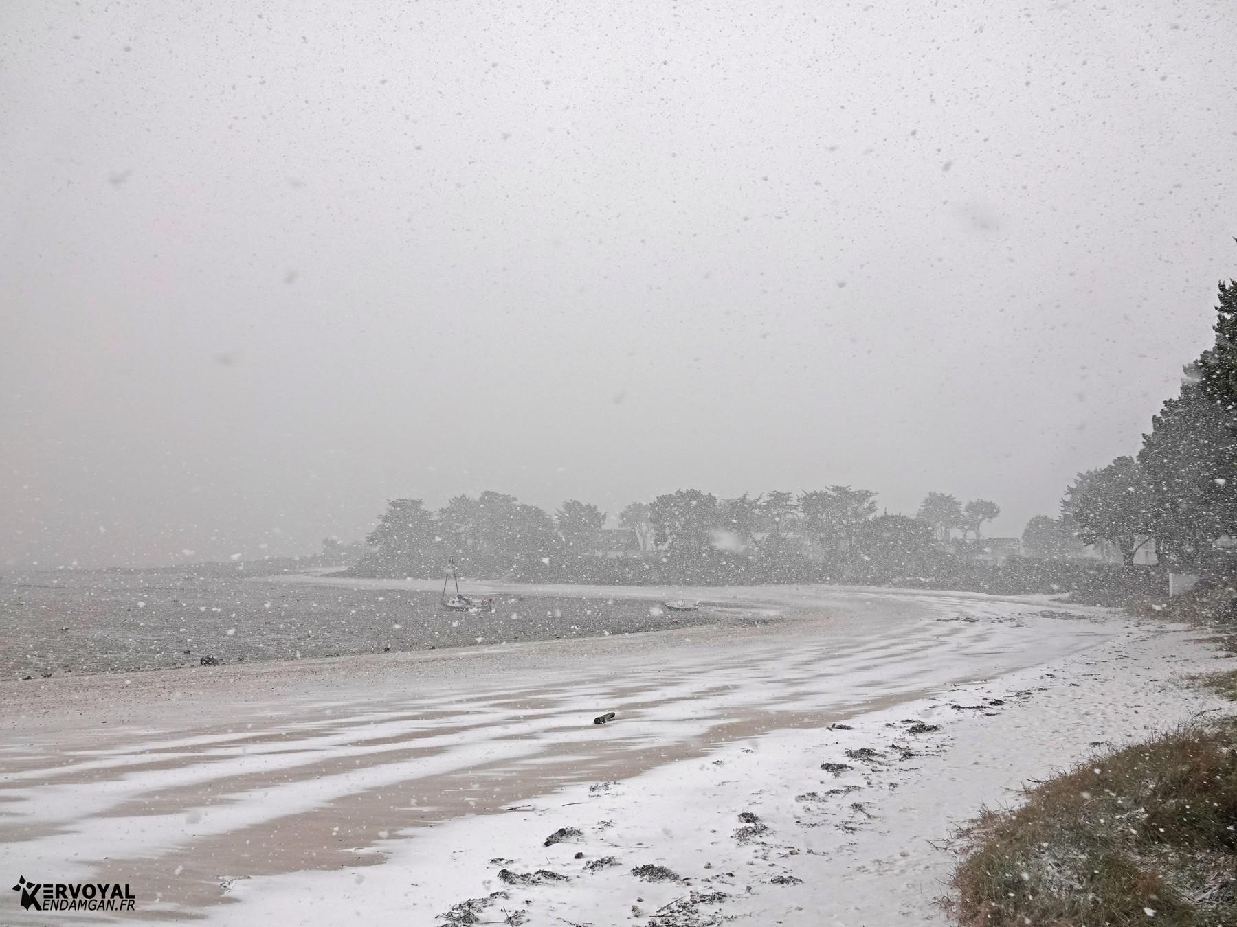 neige à kervoyal 11 février 2021 damgan morbihan (20)