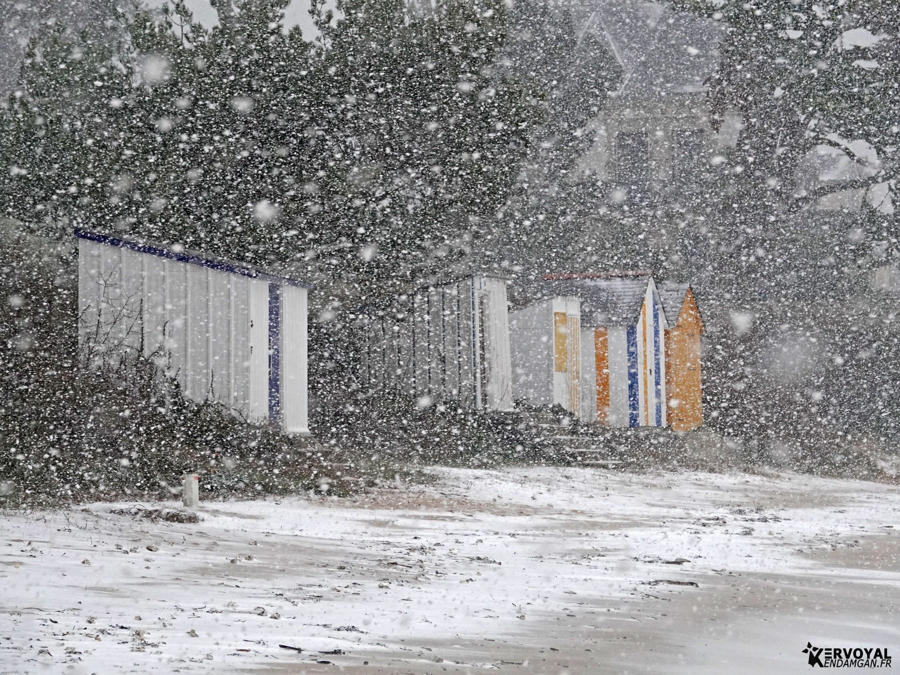 neige à kervoyal 11 février 2021 damgan morbihan (23)