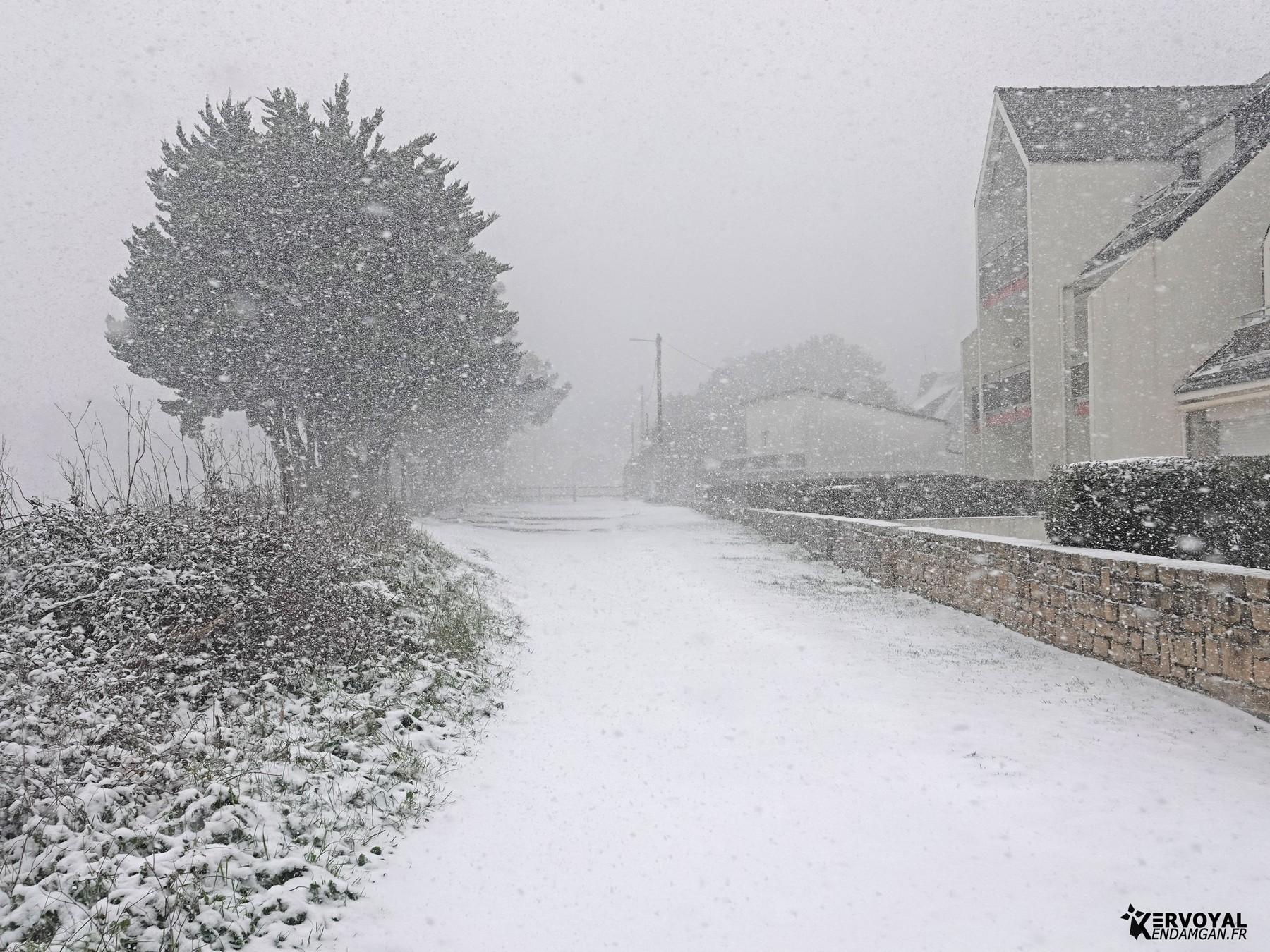 neige à kervoyal 11 février 2021 damgan morbihan (24)
