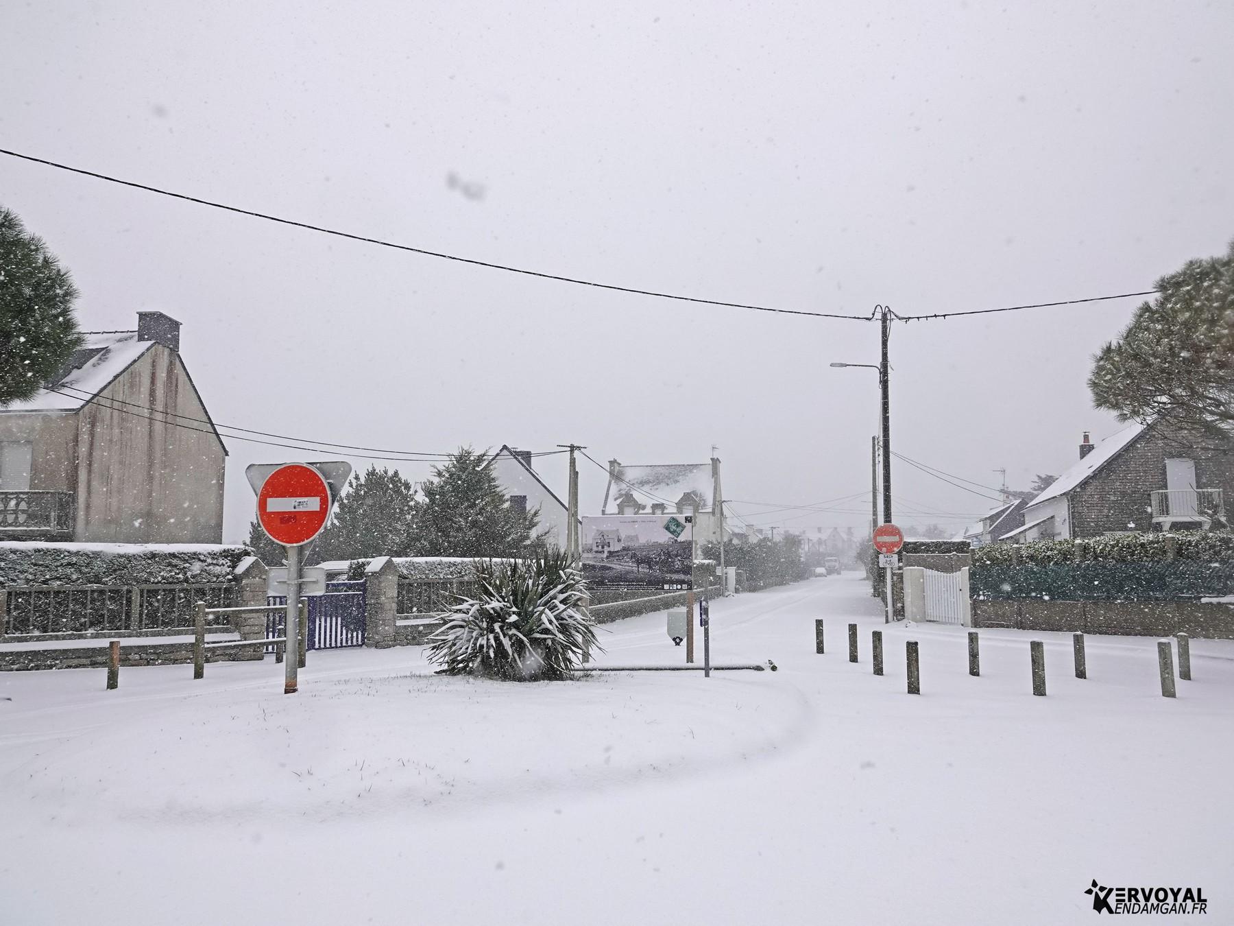neige à kervoyal 11 février 2021 damgan morbihan (27)