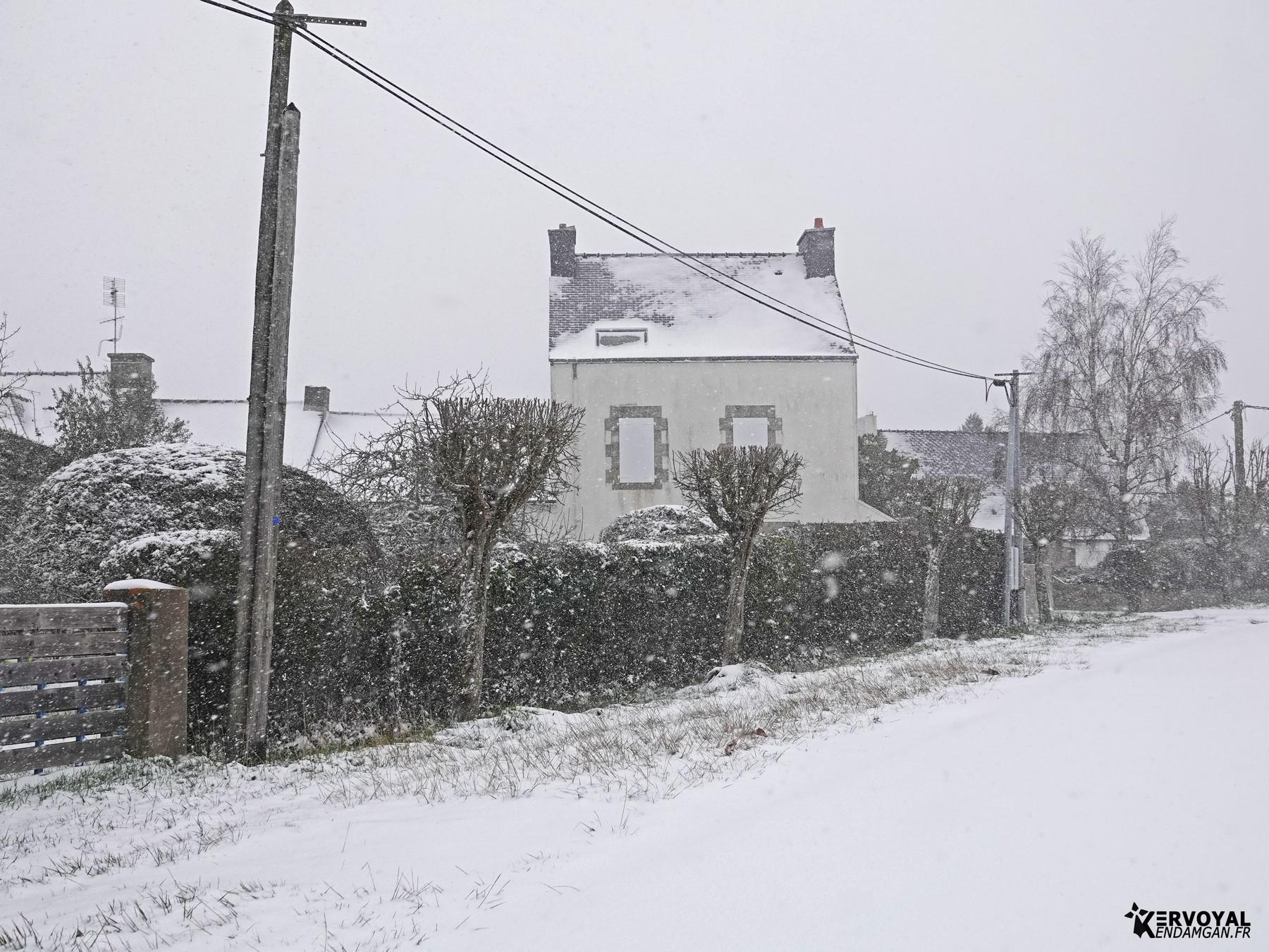 neige à kervoyal 11 février 2021 damgan morbihan (28)