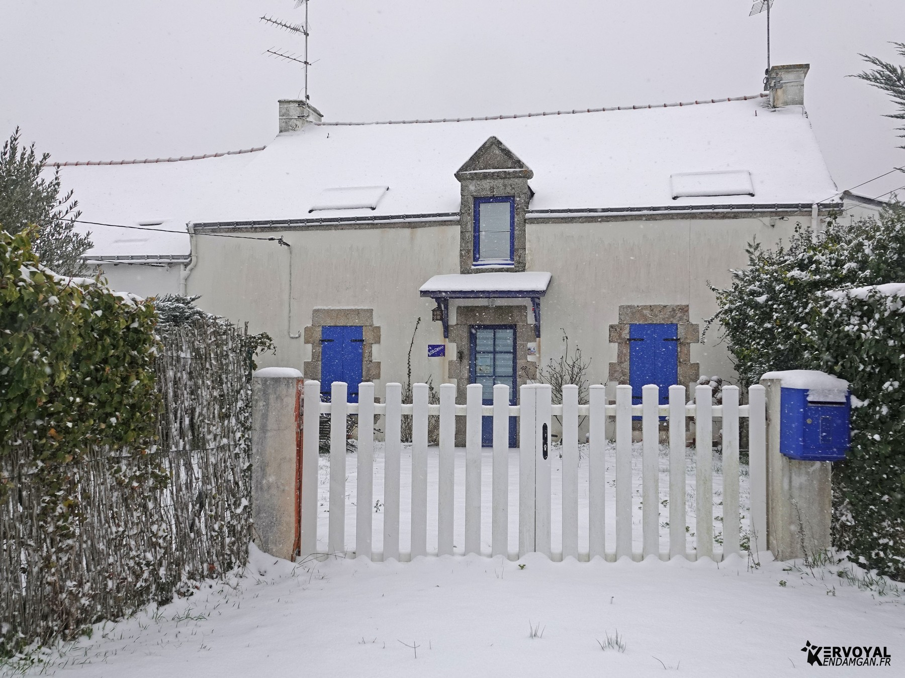 neige à kervoyal 11 février 2021 damgan morbihan (36)