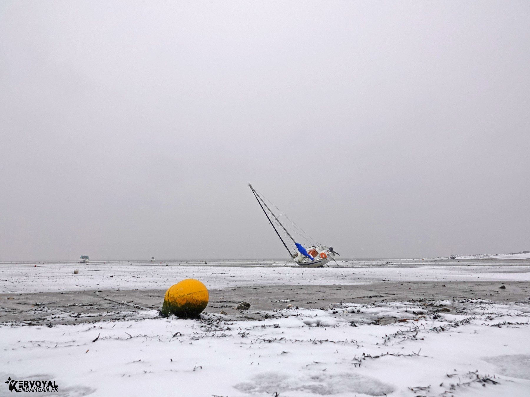 neige à kervoyal 11 février 2021 damgan morbihan (37)