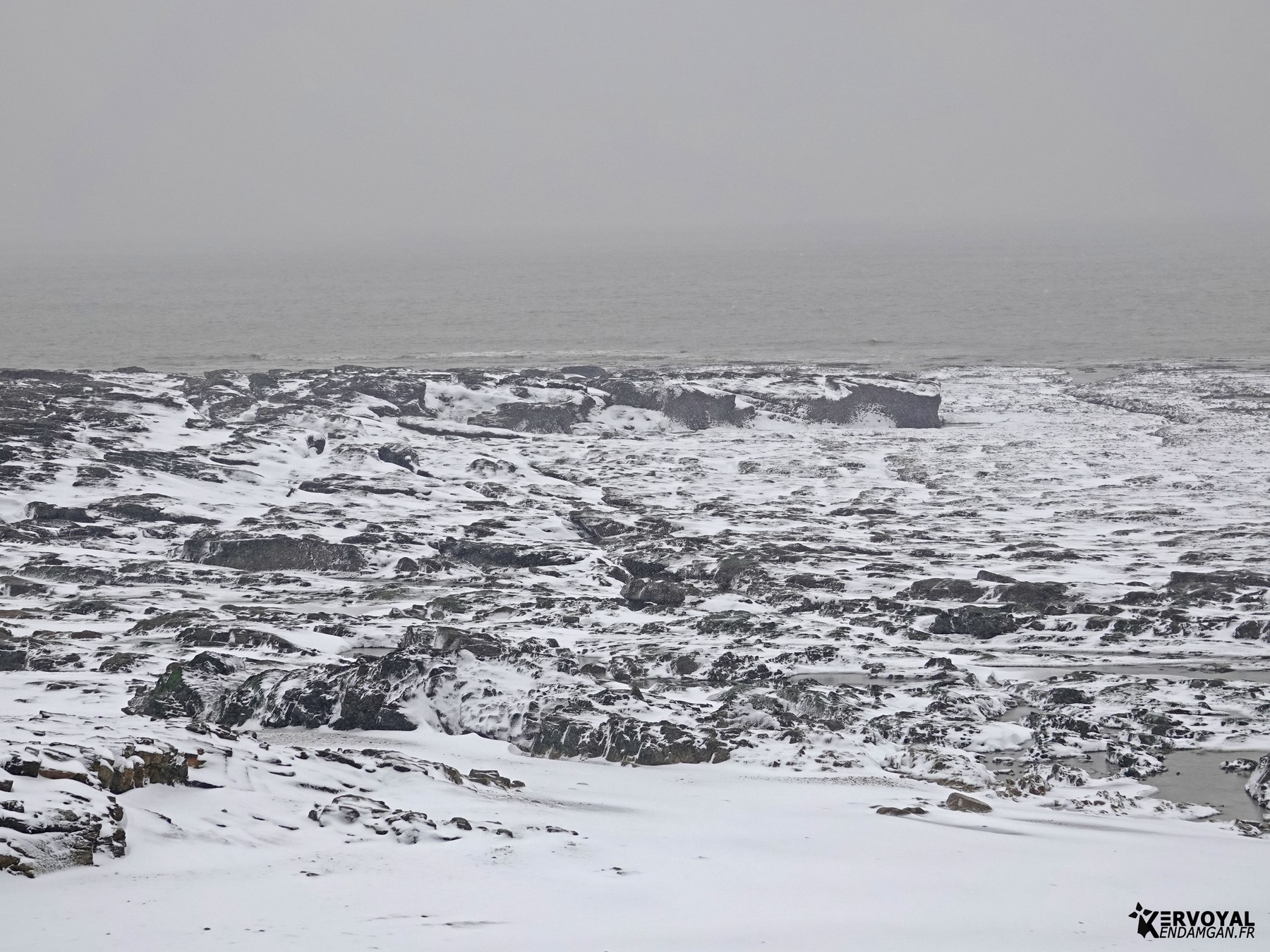 neige à kervoyal 11 février 2021 damgan morbihan (42)
