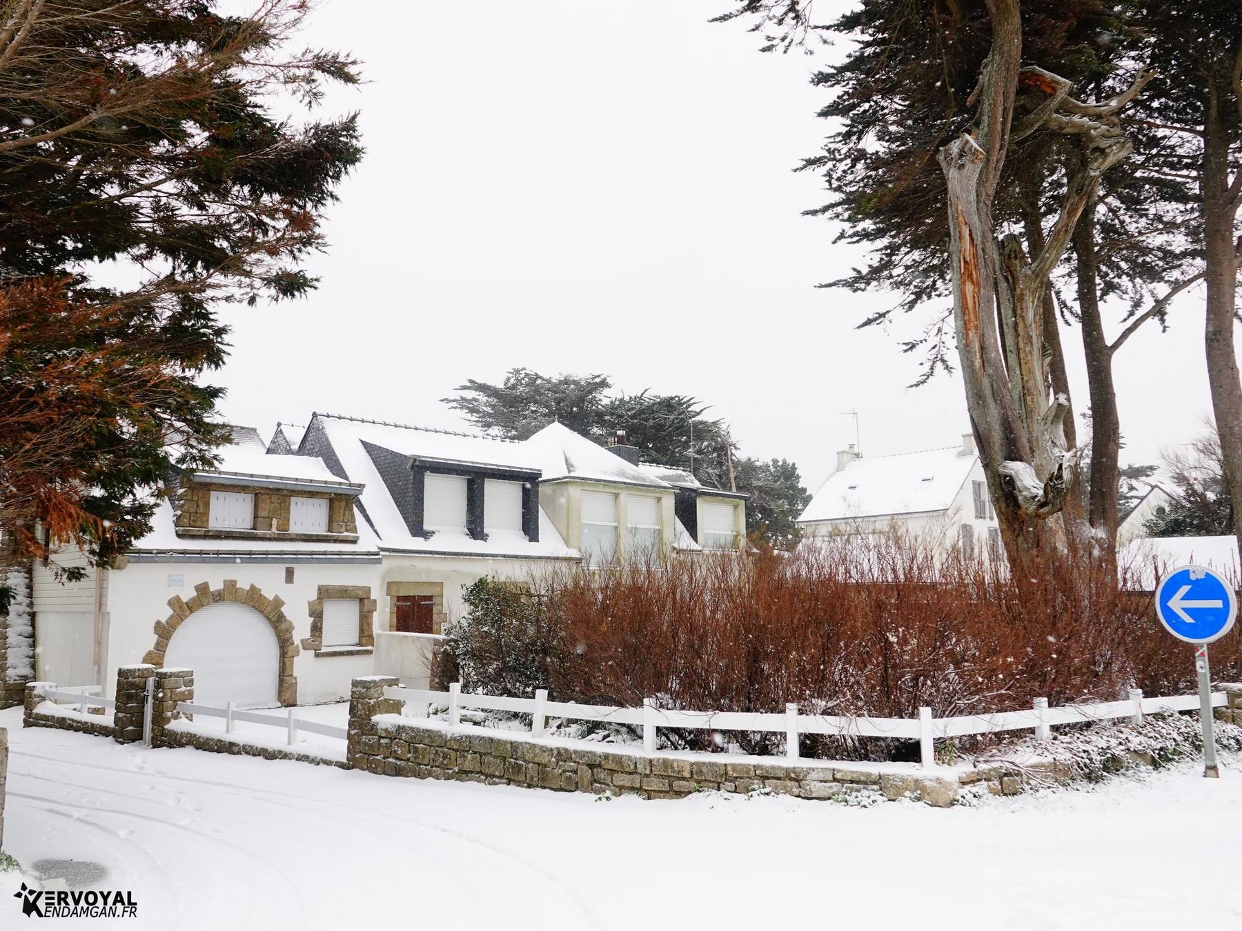neige à kervoyal 11 février 2021 damgan morbihan (5)