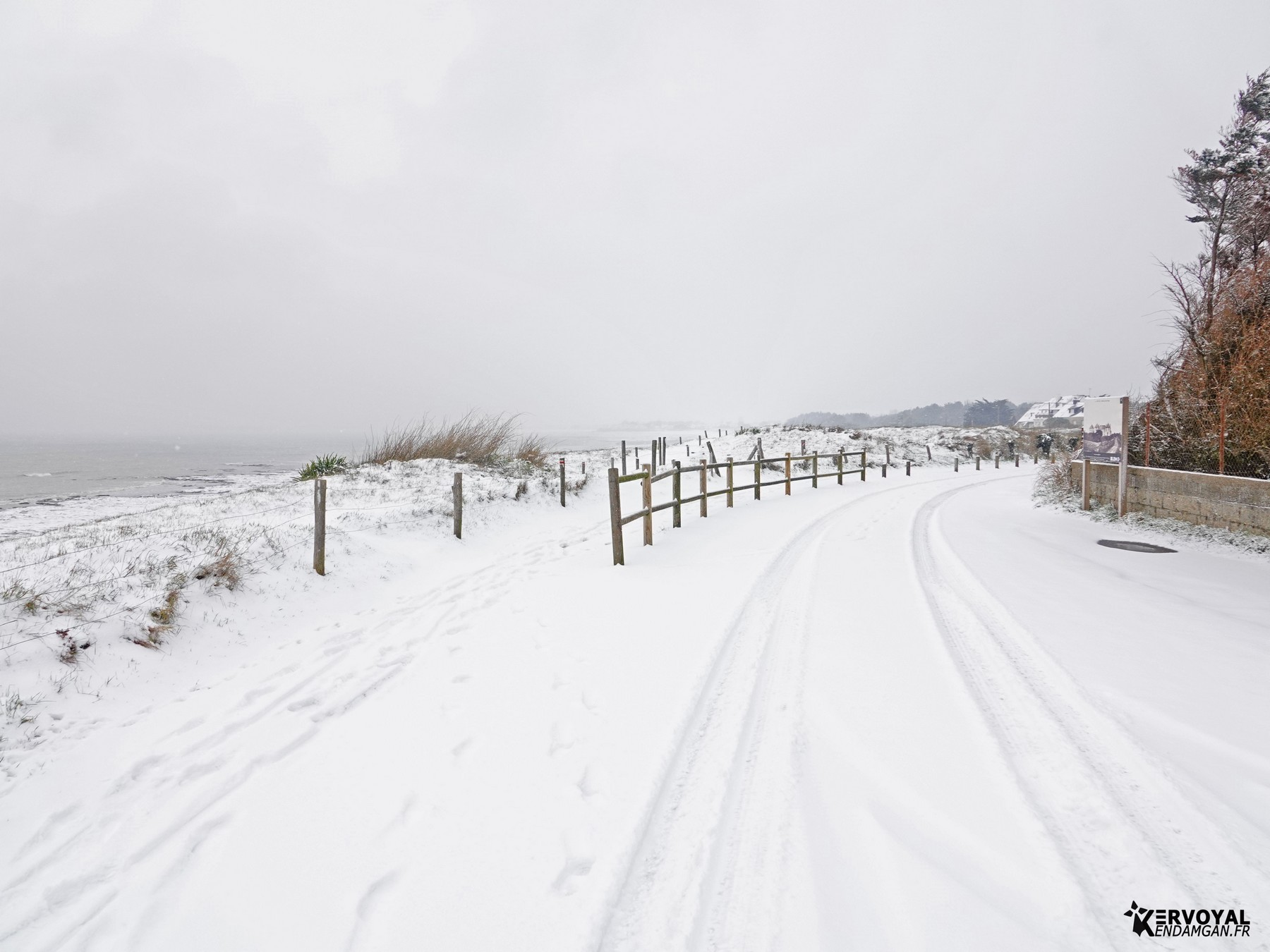 neige à kervoyal 11 février 2021 damgan morbihan (6)