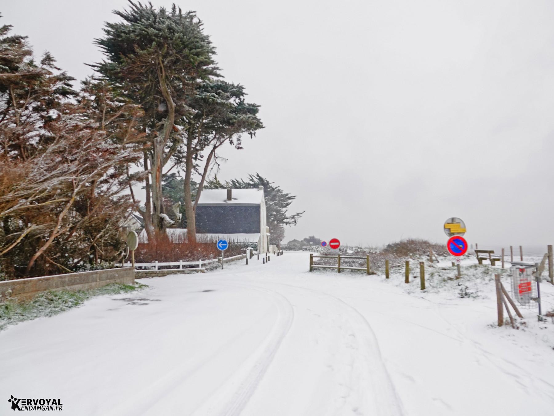 neige à kervoyal 11 février 2021 damgan morbihan (7)