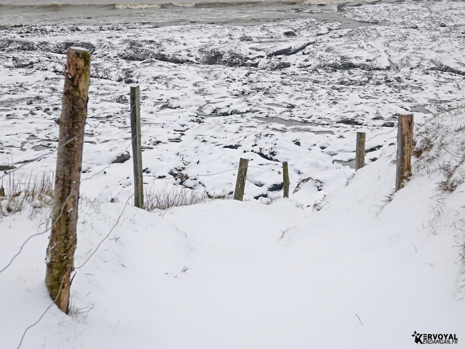 neige à kervoyal 11 février 2021 damgan morbihan (8)