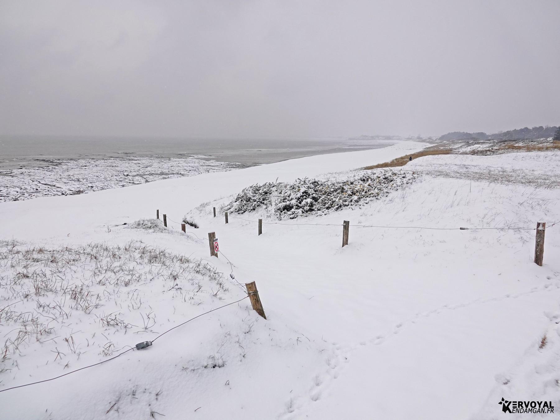 neige à kervoyal 11 février 2021 damgan morbihan (9)