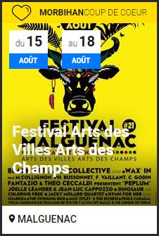 festival art des villes et des champs malguenac 2019