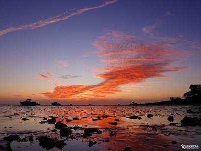 lever de soleil à kervoyal en damgan
