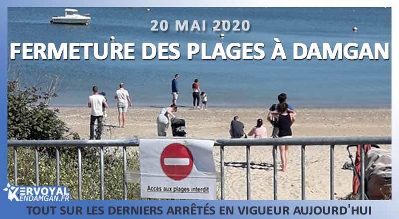 Comme à Billiers ou Erdeven et peut être à Sarzeau ou Arzon, Damgan referme ses plages. L'incivisme a été constaté partout ce week-end. L'hygiène et les consignes sanitaires ont volées en éclat.